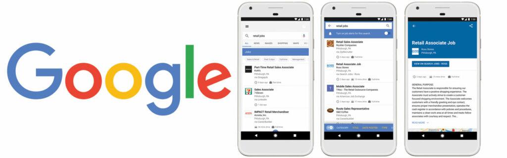 Google Jobs news