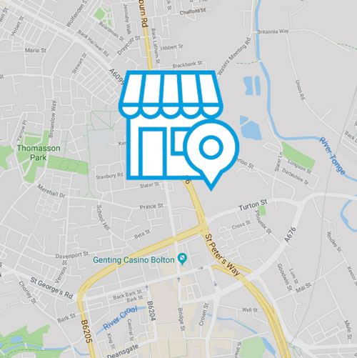 Local SEO Services Map