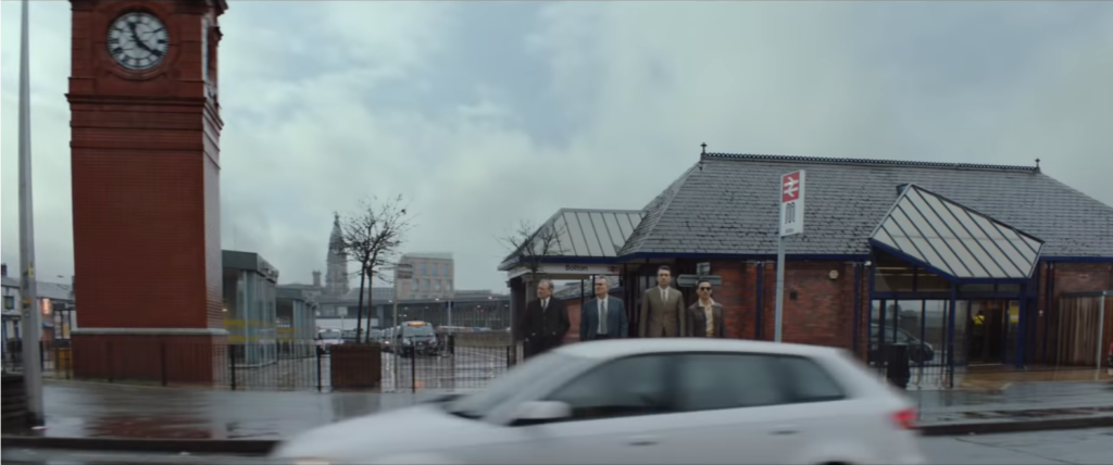 De Niro at Bolton Train Station