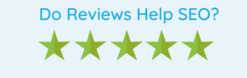 do reviews help SEO image