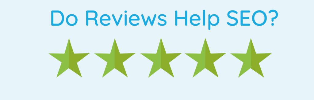 do reviews help SEO image