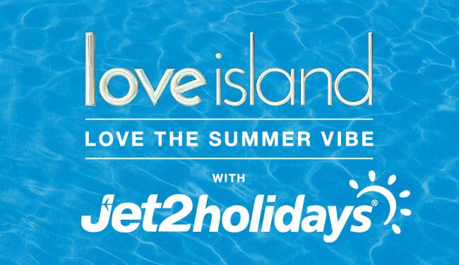 jet2 love island partnership