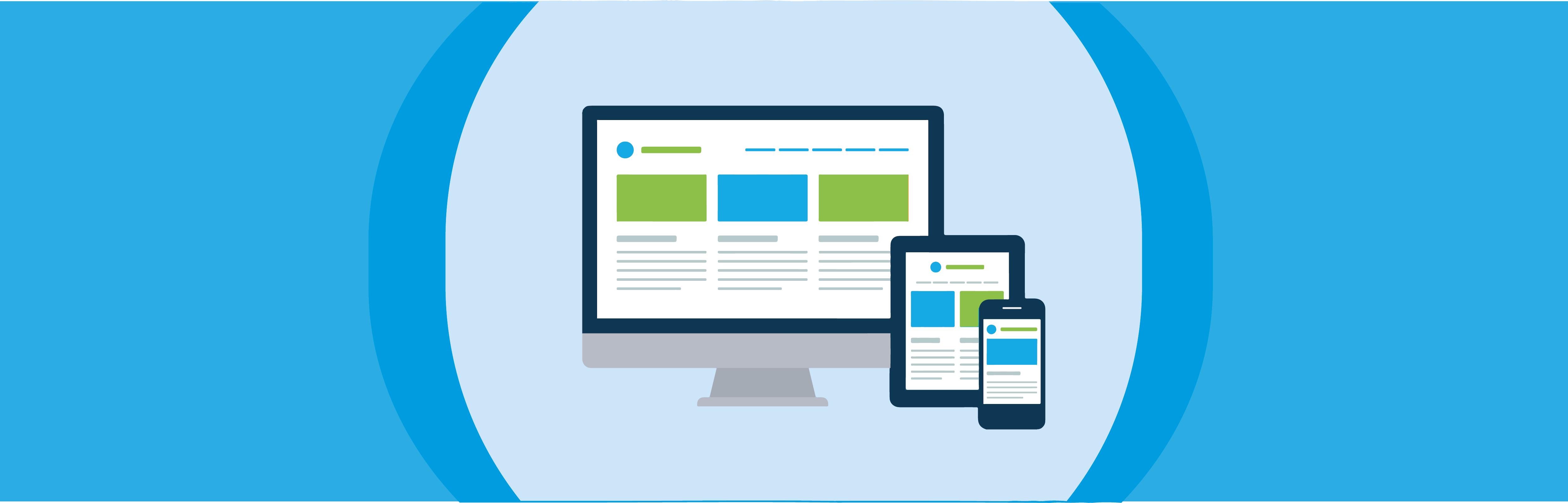 Different Types of websites header