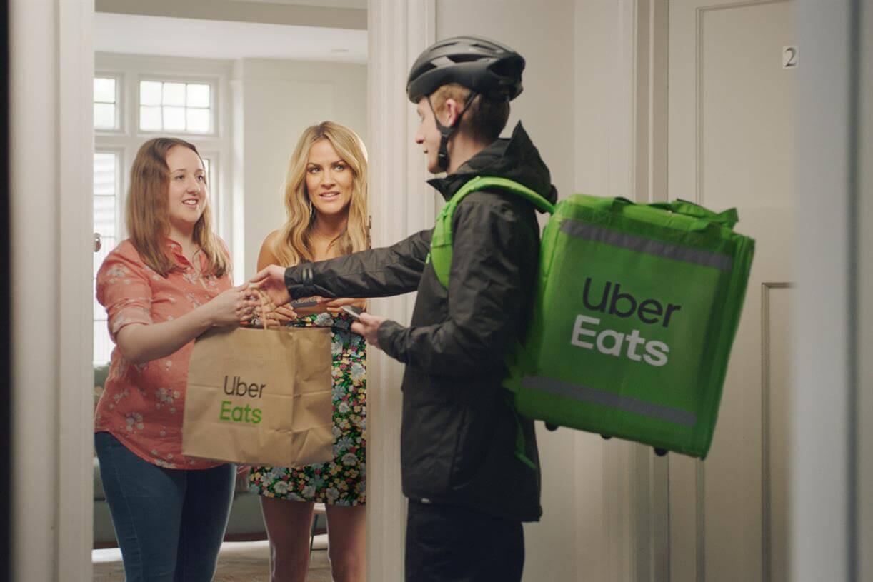 UberEats Love Island Advert