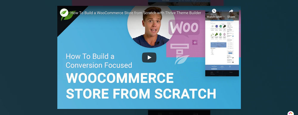 Woocommerce store built from scratch video tutorial